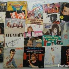 Discos de vinilo: LOTE 42 VINILOS SENCILLOS. Lote 144506674