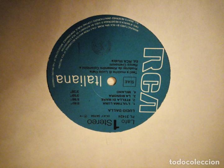 Discos de vinilo: Lucio Dalla ?– LUltima Luna 1978 maxi sigle - Foto 3 - 144508494