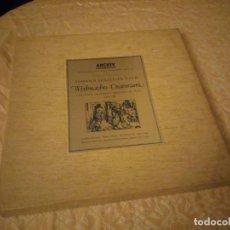 Discos de vinilo: JOHANN SEBASTIAN BACH WEIHNACHTS-ORATORIUM CHRISTMAS ORATORIO ORATORIO DE NOEL BWV 248.1965,3 LPS. Lote 144509522