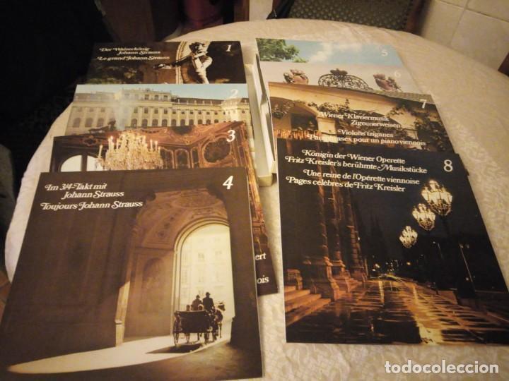 Discos de vinilo: el gran johann strauss - el alma de la musica vienesa - readers digest,estuche con 8 lps - Foto 2 - 144509878
