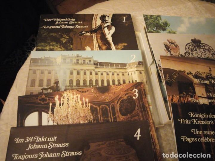 Discos de vinilo: el gran johann strauss - el alma de la musica vienesa - readers digest,estuche con 8 lps - Foto 3 - 144509878