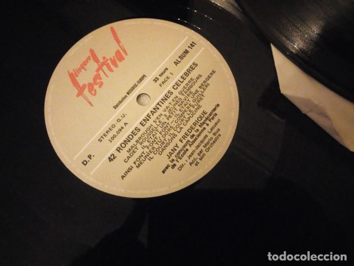 Discos de vinilo: Jany Frédérique - Les Petits Carillonneurs ? 42 Rondes Enfantines Célèbres,2 lps sin caratula - Foto 3 - 144512894