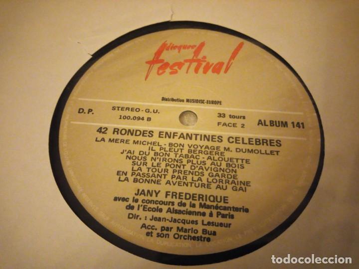 Discos de vinilo: Jany Frédérique - Les Petits Carillonneurs ? 42 Rondes Enfantines Célèbres,2 lps sin caratula - Foto 5 - 144512894