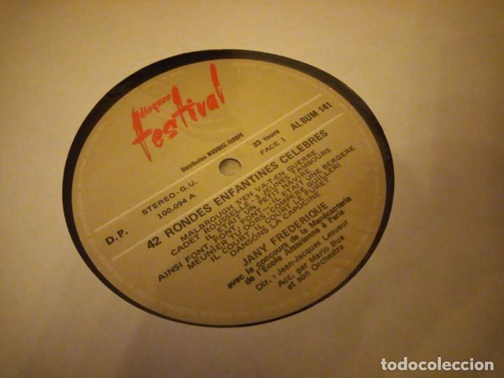 Discos de vinilo: Jany Frédérique - Les Petits Carillonneurs ? 42 Rondes Enfantines Célèbres,2 lps sin caratula - Foto 6 - 144512894