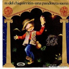 Discos de vinilo: ESCOLANIA DEL COLEGIO SAN ANTONIO DE MADRID / AY DEL CHIQUIRRITIN (SINGLE 1970). Lote 144516202