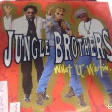 Discos de vinilo: SINGLE (VINILO) DE JUNGLE BROTHERS AÑOS 90. Lote 144529454
