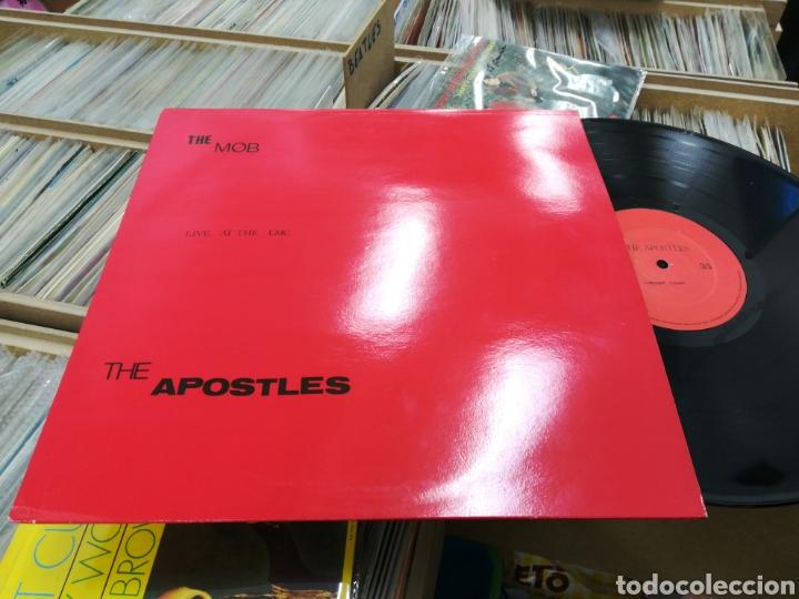 THE MOB / THE APOSTLES LP LIVE AT THE LMC (Música - Discos - LP Vinilo - Punk - Hard Core)