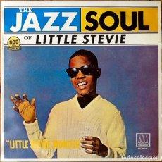 Discos de vinilo: STEVIE WONDER : THE JAZZ SOUL OF LITTLE STEVIE [ESP 1984] LP/RE. Lote 144534910