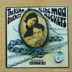 Discos de vinilo: THE KUHN BROTHERS & THE MAD ROCKERS - THE KUHN BROTHERS & THE MAD ROCKERS - GATEFOLD - LP. Lote 144537624