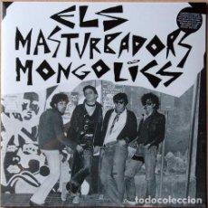 Discos de vinilo: ELS MASTURBADORS MONGOLICS LP ROCK PUNK BARCELONA. Lote 144544014