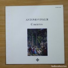 Discos de vinilo: ANTONIO VIVALDI - CONCIERTOS - LP. Lote 144546829