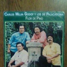 Discos de vinilo: CARLOS MEJIA GODOY Y LOS DE PALACAGÜINA - FLOR DE PINO, CBS, 1978. SPAIN.. Lote 144554133