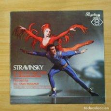 Discos de vinilo: STRAVINSKY / HANS ROSBAUD - EL PAJARO DE FUEGO - LP. Lote 144556998
