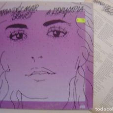 Discos de vinilo: MARIA DEL MAR BONET – A L'OLYMPIA - LP PORTADA DOBLE + ENCARTE 1975 - ARIOLA . Lote 144564650