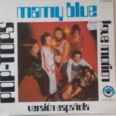 Discos de vinilo: POP TOPS: MAMY BLUE (REEDICIÓN). Lote 144569634