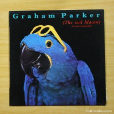Discos de vinilo: GRAHAM PARKER - THE REAL MACAW - LP. Lote 144571237