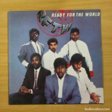 Discos de vinilo: READY FOR THE WORLD - READY FOR THE WORLD - LP. Lote 144572993