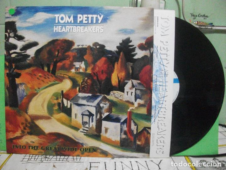 INTO THE GREAT WIDE OPEN. TOM PETTY AND THE HEARTBREAKERS LP 1991 MCA SPAIN CON ENCARTE (Música - Discos - LP Vinilo - Pop - Rock Extranjero de los 90 a la actualidad)