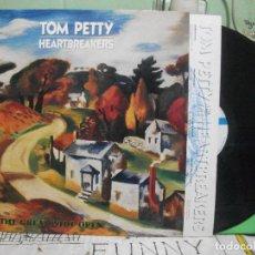 Discos de vinilo: INTO THE GREAT WIDE OPEN. TOM PETTY AND THE HEARTBREAKERS LP 1991 MCA SPAIN CON ENCARTE . Lote 144575214