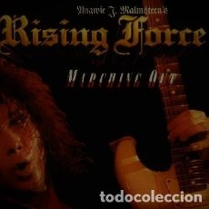 Discos de vinilo: YNGWIE MALMSTEEN LP MARCHING OUT 1988 GERMANY POLYDOR. Lote 30693241