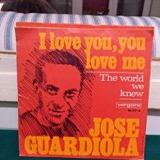 Discos de vinilo: JOSE GUARDIOLA, VERGARA 1967. Lote 144581246