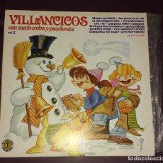 Discos de vinilo: VILLANCICOS CON ZAMBOMBA Y PANDERETA, VOL. 2 . Lote 145786086