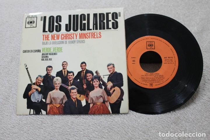 LOS JUGLARES THE NEW CHRISTY MINSTRELS RANDY SPARKS SINGLE VINYL MADE IN SPAIN 1963 (Música - Discos - Singles Vinilo - Orquestas)