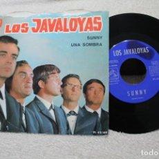 Discos de vinilo: LOS JAVALOYAS SUNNY UNA SOMBRA SINGLE VINYL MADE IN SPAIN 1966. Lote 144595078