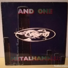 Discos de vinilo: AND ONE - METAL HAMMER. Lote 144596510