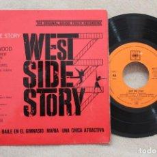 Discos de vinilo: BSO WEST SIDE STORY SINGLE VINYL MADE IN SPAIN 1962. Lote 144602662