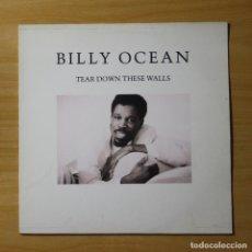 Discos de vinilo: BILLY OCEAN - TEAR DOWN THESE WALLS - LP. Lote 144603668