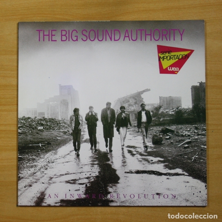 THE BIG SOUND AUTHORITY - AN INWARD REVOLUTION - LP