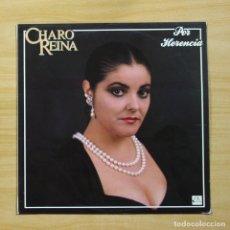 Discos de vinilo: CHARO REINA - POR HERENCIA - LP. Lote 144607918