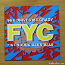 Dischi in vinile: FINE YOUNG CANNIBALS - SHE DRIVES ME CRAZY - MAXI. Lote 144610749