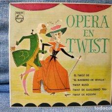 Discos de vinilo: TULLIO GALLO Y SU ORQUESTA - OPERA EN TWIST - FANTASTICO EP DEL AÑO 1962 - SUPER RARO Y EXCELENTE. Lote 144612166