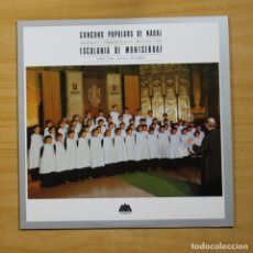 Discos de vinilo: ESCOLANIA DE MONTSERRAT - CANCONS POPULARS DE NADAL - LP. Lote 144615268