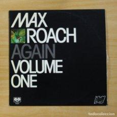 Discos de vinilo: MAX ROACH - AGAIN VOLUME ONE - LP. Lote 144615400