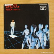 Discos de vinilo: DALTO - PESSOA SABER DE TI - MAXI. Lote 144621026