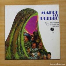 Discos de vinilo: EMILIO VICENTE / CORAL SAN JOSE DE PAMPLONA - MADRE DEL PUEBLO - LP. Lote 144621654