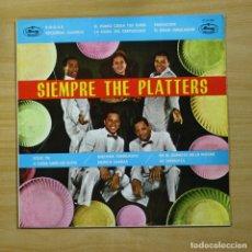 Discos de vinilo: THE PLATTERS - SIEMPRE THE PLATTERS - LP. Lote 144623458