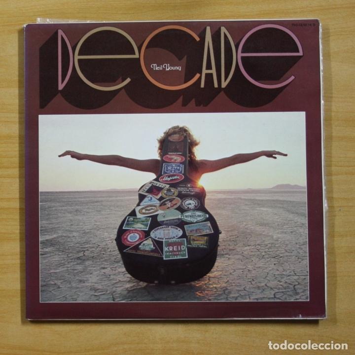 NEIL YOUNG - DECADE - GATEFOLD - 3 LP (Música - Discos - LP Vinilo - Pop - Rock - Extranjero de los 70)