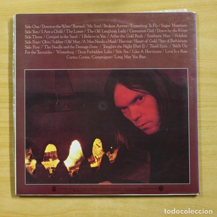 Discos de vinilo: NEIL YOUNG - DECADE - GATEFOLD - 3 LP - Foto 2 - 144624068