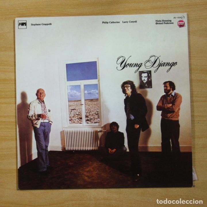 STEPHANE GRAPPELLI - YOUNG DJANGO - LP (Música - Discos - LP Vinilo - Jazz, Jazz-Rock, Blues y R&B)