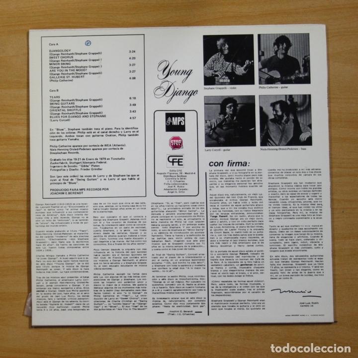Discos de vinilo: STEPHANE GRAPPELLI - YOUNG DJANGO - LP - Foto 2 - 144624741