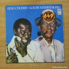 Discos de vinilo: BING CROSBY / LOUIS ARMSTRONG - BING CROSBY / LOUIS ARMSTRONG - LP. Lote 144625358