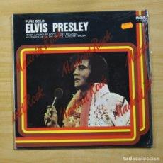 Discos de vinilo: ELVIS PRESLEY - PURE GOLD - LP. Lote 144625396