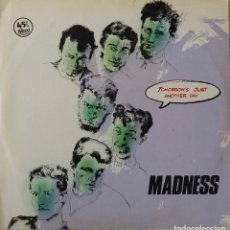 Discos de vinilo: MADNESS. TOMORROW´S JUST ANOTHER DAY. MAXI SINGLE ESPAÑA 4 TEMAS .. Lote 144625810