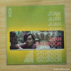 Discos de vinilo: JUAN SALVADOR - JUAN SALVADOR - LP. Lote 144627106