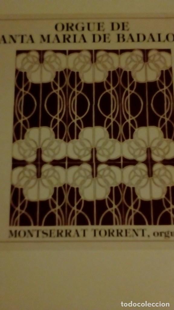 ORGUE DE SANTA MARIA DE BADALONA - MONTSERRAT TORRENT (Música - Discos de Vinilo - EPs - Clásica, Ópera, Zarzuela y Marchas)