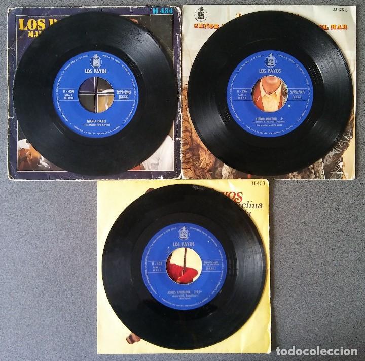 Discos de vinilo: Lote singles Los Payos - Foto 3 - 144637134